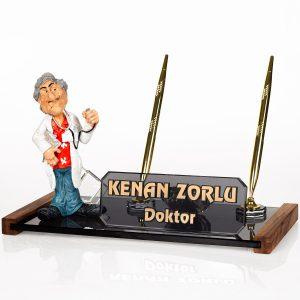 Doktora Hediye Doktor Biblolu İsimlik Masa İsimliği